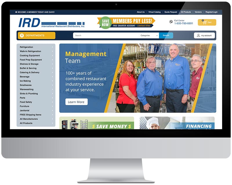 IRD new site