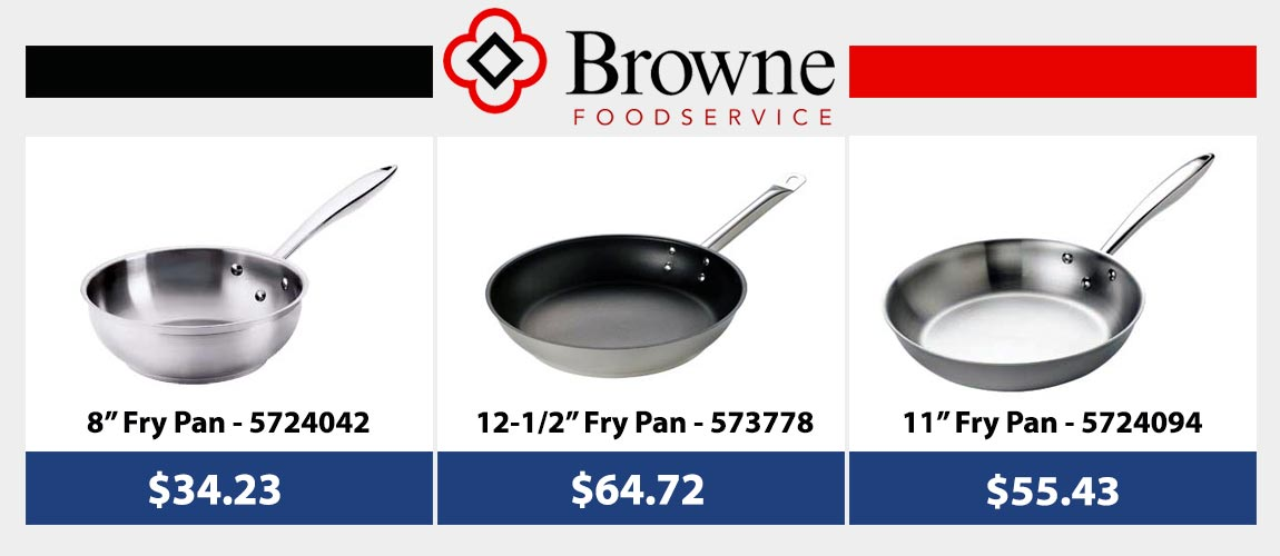 Brone Fry Pans