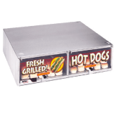 Hot Dog Bun Cabinet