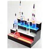 Lighted Liquor Display