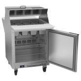 Dual Side Mega Top Refrigerated Counter