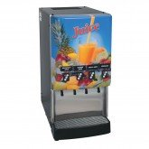 37300.0023  JDF-4S Silver Series® 4-Flavor Cold Beverage System