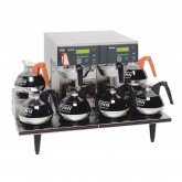 38700.0015  AXIOM® 0/6 Twin Automatic Coffee Brewer with 6 Warmers