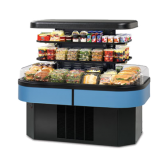Specialty Display Island Self-Serve Refrigerated Merchandiser