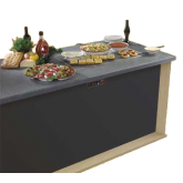 Glo-Ray® Heated Stone Shelf
