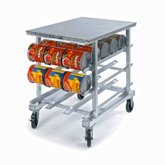 Can Storage & Dispensing Rack