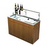 Chalet Portable Back Bar