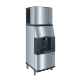 Vending Ice Dispenser with Built-In Water Valve