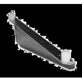 Heavy Duty Single Knob Shelf  C  Bracket