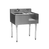 1800 Series Underbar Drainboard/Ice Bin/Blender Unit