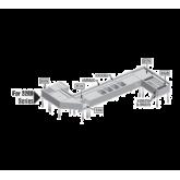 Blender step unit with liquid waste chute