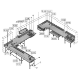 Brackets for booster heater