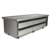 High Capacity Refrigerated Chef Base