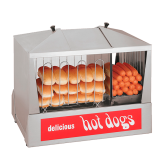 (QUICK-SHIP) Hot Dog Steamer