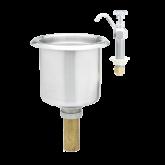 Dipper Well Faucet