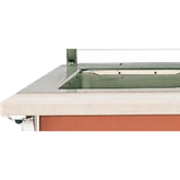 Customer Side Cutting Board - ADA Signature Server® with Stainless Steel Countertops