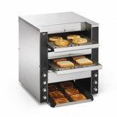 Dual Conveyor Convertible Toaster