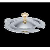 Miramar™ Brass Knob Hinged Cover