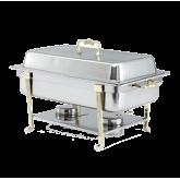 Classic Design Full-Size Brass Trim Chafer