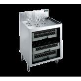 Royal 1800 Series Underbar Glass Rack Storage Unit