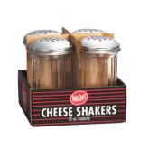 Cash & Carry Cheese Shakers